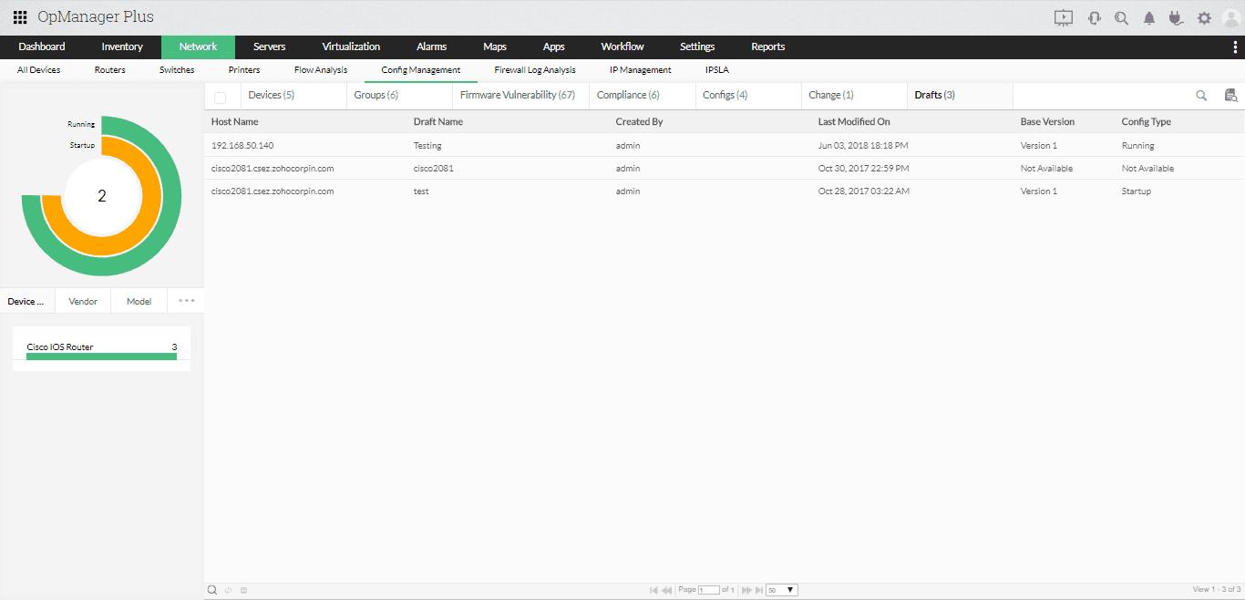 Configuration & Compliance Management
